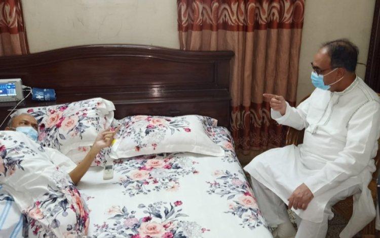 Mirza Abbas came to see Rizvi