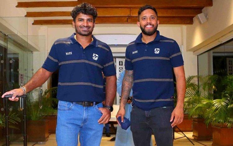 Sri Lanka cricket team in Dhaka